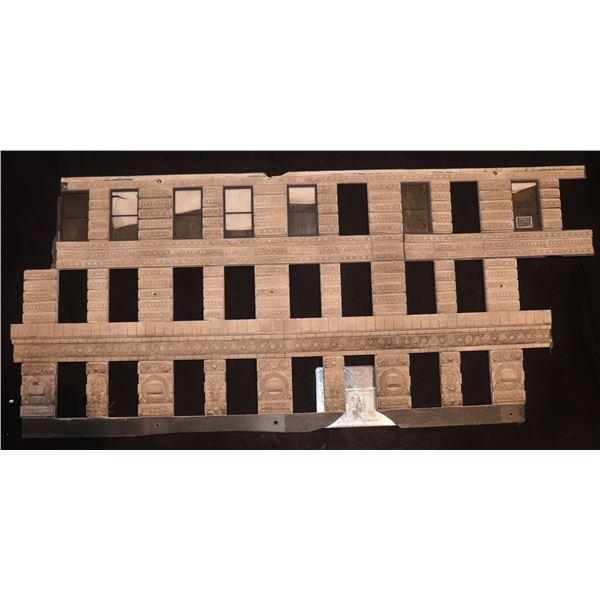 GODZILLA FLATIRON BUILDING SCREEN USED LARGE SECTION 1