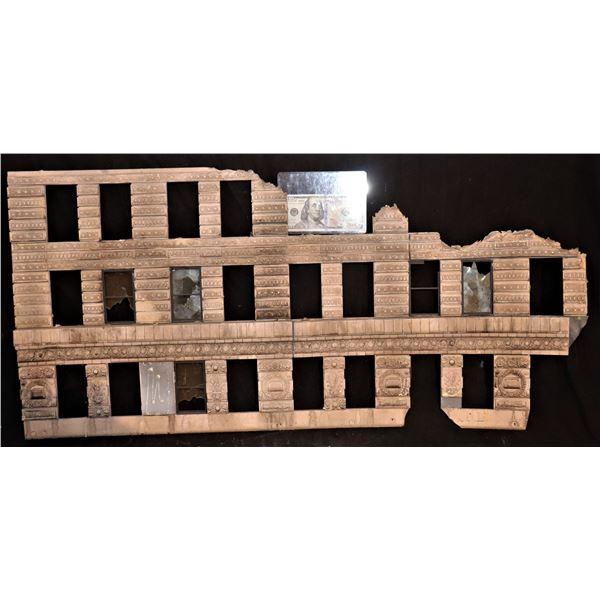 GODZILLA FLATIRON BUILDING SCREEN USED CLAWED & CHEWED SECTION 1