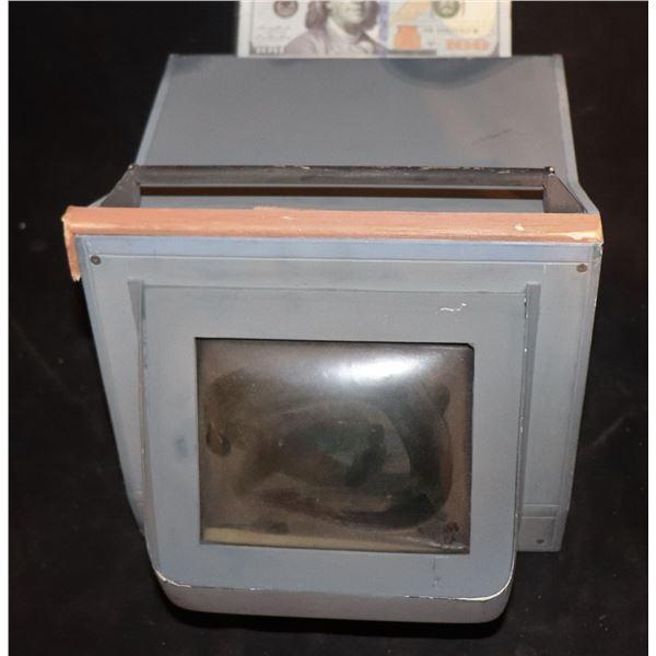 GODZILLA CONTROL ROOM COMPUTER MONITOR MINIATURE SCREEN USED 1