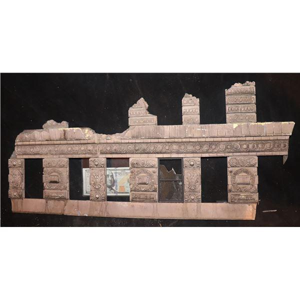 GODZILLA FLATIRON BUILDING SCREEN USED CLAWED & CHEWED SECTION 2