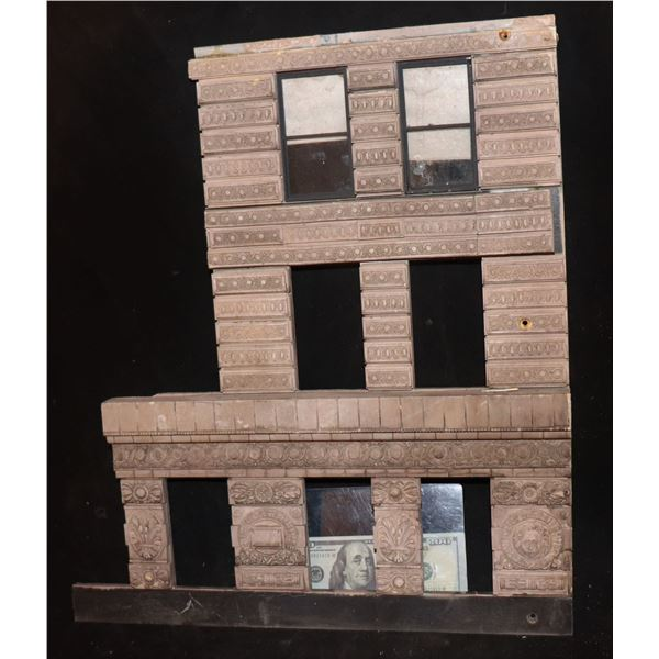 GODZILLA FLATIRON BUILDING SCREEN USED SECTION WITH WINDOWS AND SHADES