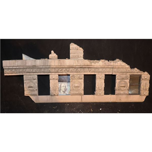 GODZILLA FLATIRON BUILDING SCREEN USED CLAWED & CHEWED SECTION 3