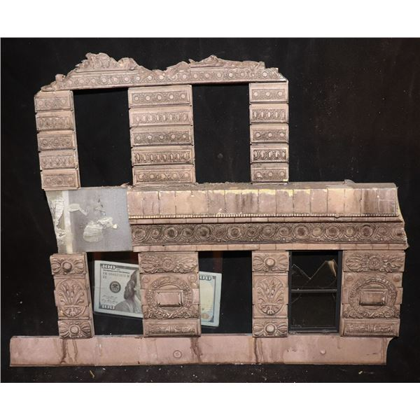 GODZILLA FLATIRON BUILDING SCREEN USED CLAWED & CHEWED SECTION 4