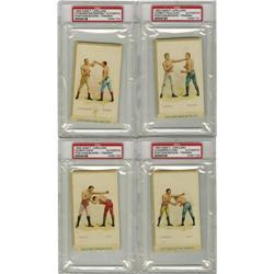 1893 N266 P. Lorillard Boxing Cards Group Lot of
