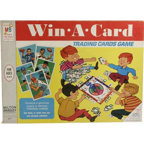 1969 Win A Card Board Game With Unopened Topps