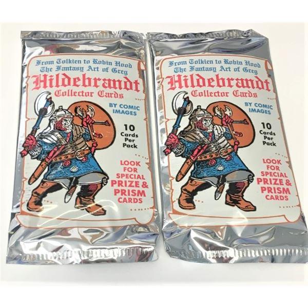 Never Opened Packs of Collectors Cards - Hildebrandt