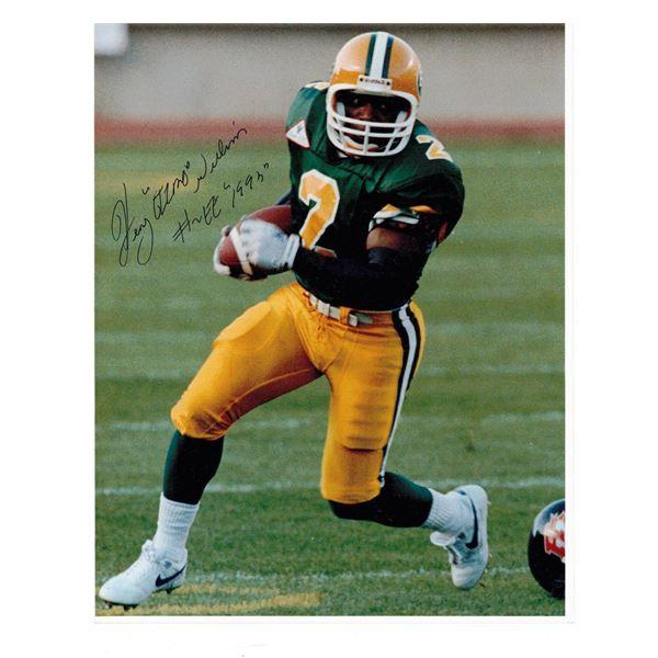"Henry Lee ""Gizmo"" Williams SIGNED photo 8"" x 10""  Edmonton Football"
