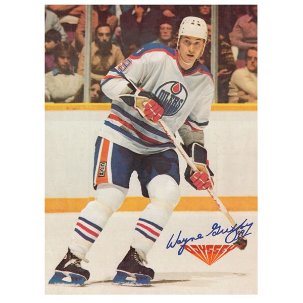 """Wayne Gretzky Poster Advertisement for Odyssey Game System, In Very Good Condition SIZE 10.5"""" x 14"""""""