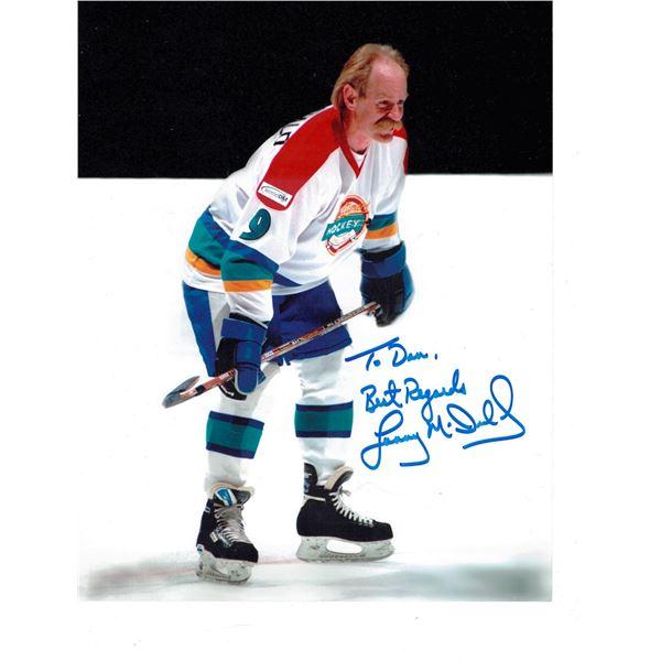 "Signed Photo Lanny King McDonald  with Marker  size 8"" x 10"""
