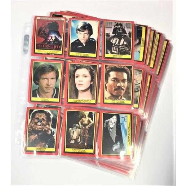 Complete Set Star Wars Return of The Jedi Collectors Cards
