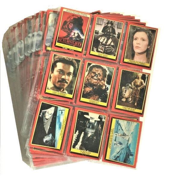Star Wars Return of The Jedi Collectors Cards  - EXTRAS NOT A COMPLETE SET   105 Cards