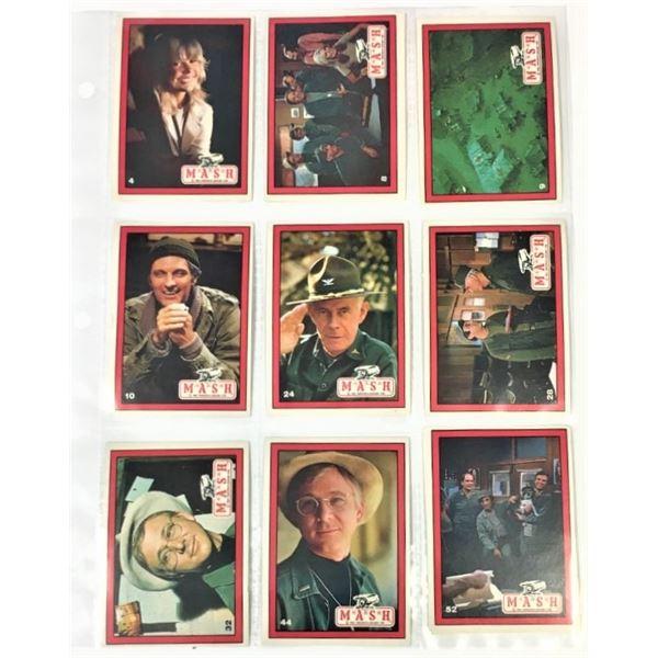 ELEVEN cards - Mash TV Series