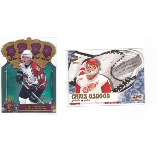 TWO 2001  McDonalds Prism Hockey Cards