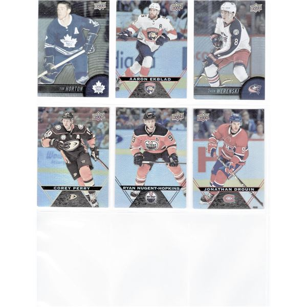 SIX 2017 Upper Deck Tim Hortons Collector's Series Cards