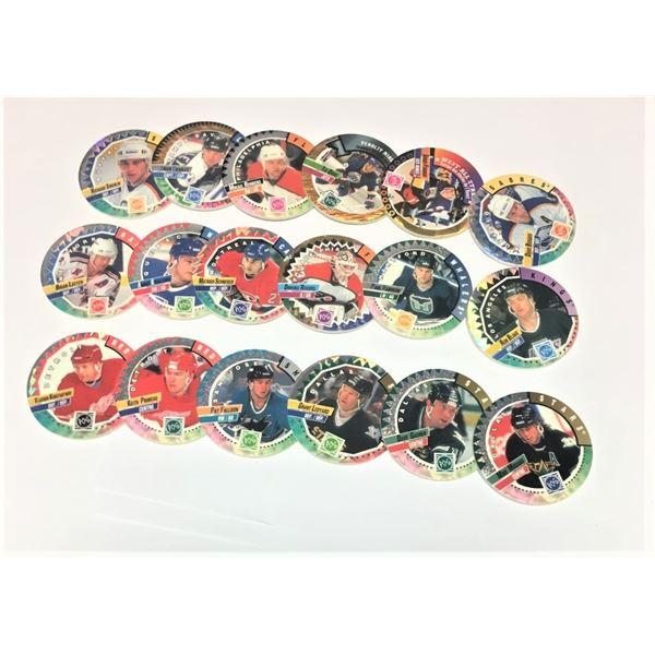1994 Hockey POGS - QUANTITY OF 18
