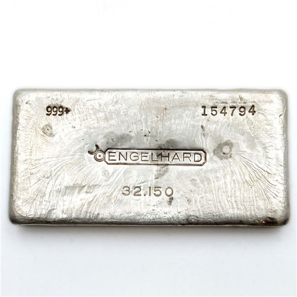 32.15oz 'Kilo'  Old Pour Engelhard with Canadian Bullhorn logo. This is the 2nd in the series slight