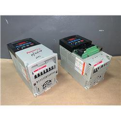 (2) - ALLEN-BRADLEY 22A-D6P0N104 POWERFLEX 4 DRIVES