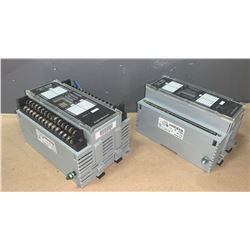LOT OF (2) - ALLEN-BRADLEY INPUT/OUTPUT MODULES (SEE PICS FOR PART NUMBERS)