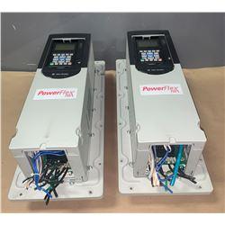 (2) - ALLEN-BRADLEY 20G11 F D 022 AA0NNNNN POWERFLEX 755 DRIVES