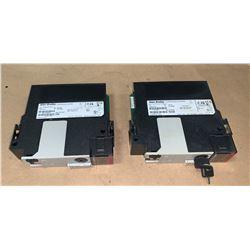 (2) - ALLEN-BRADLEY 1756-L73S LOGIX 5573S AUTOMATION CONTROLLERS