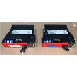 (2) - ALLEN-BRADLEY 1756-L62S GUARDLOGIX 5562S PROCESSORS