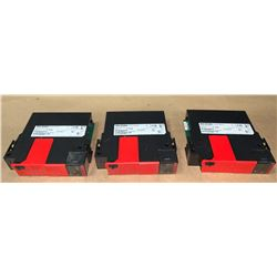 (3) - ALLEN-BRADLEY 1756-L7SP LOGIX L7SP SIL 3 PLe SAFETY PARTNER CONTROLLERS
