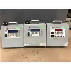 LOT OF COLORMATRIX COLOR METERING SYSTEM