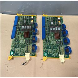 (2) - FANUC A16B-2201-010 CIRCUIT BOARDS