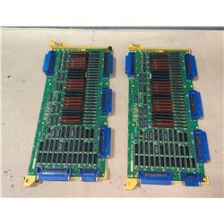 (2) - FANUC A16B-1212-022 CIRCUIT BOARDS