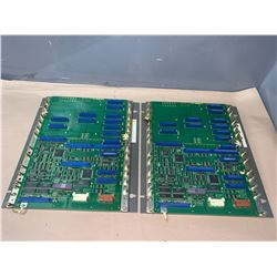 (2) - FANUC A20B-2001-0060/01A CIRCUIT BOARDS