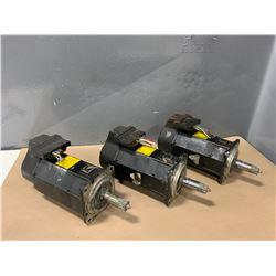 (3) - FANUC A06B-0162-B175#0006 AC SERVO MOTORS