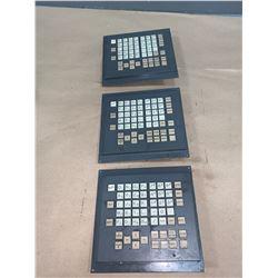 (3) - FANUC A02B-0281-C125/MBR MDI KEYPAD UNITS