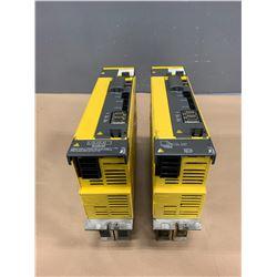 (2) - FANUC A06B-6114-H211 aiSV 160/160 SERVO DRIVES