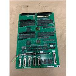 MORI SEIKI E76033 B2 9704032 I/O PANEL 64 CIRCUIT BOARD