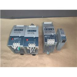 LOT OF SOLA POWER SUPPLY (SEE PICS FOR PART NUMBERS)