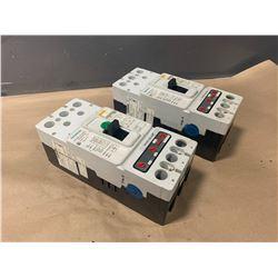 (2) - SIEMENS 3VF4231-1DH41 150 A CIRCUIT BREAKERS