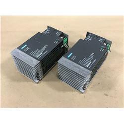 (2) SIEMENS 6EP1434-1SH01 SITOP POWER SUPPLY