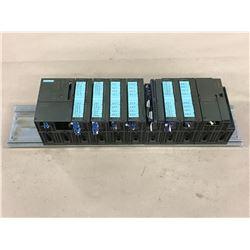 SIEMENS 6ES7-315-2AF03-0AB0 CPU MODULE W/ MODULES AND RACK