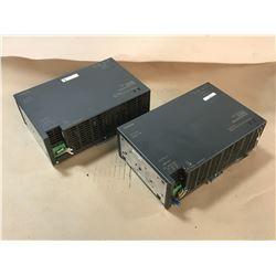 (2) SIEMENS 6EP1437-2BA00 POWER SUPPLY