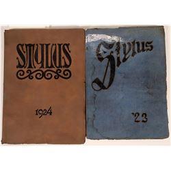 High School Yearbooks from John Wayne's  Alma Mater  [131332]