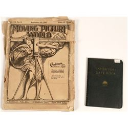 """""""Moving Picture World"""" Magazine 1917 and Paramount Date Book 1937-38  [127732]"""