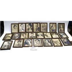 Autographed Silent Star Photos (40)  [129807]