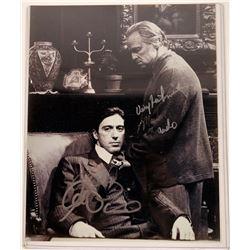 Brando/Pacino Autographed Photo  [127432]