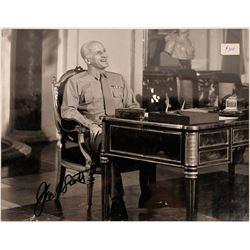 George C. Scott Autographed Patton Photo  [127444]
