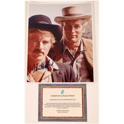 Newman/Redford Autographed Butch Cassidy Photo  [127438]