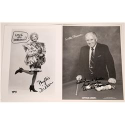 Phyllis Diller/Willie Mosconi Publicity Photos  [127447]
