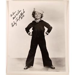 Shirley Temple Auto graphed Photo  [127446]