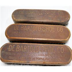 Vintage DeBartolo Shoe Co. Los Angeles Shoe Brushes  [131635]