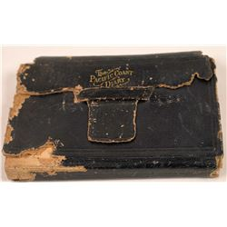 1881 San Francisco Lady's Diary and Account Book  [128861]