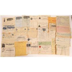 San Francisco Bay Area Receipts & Billheads  [131398]